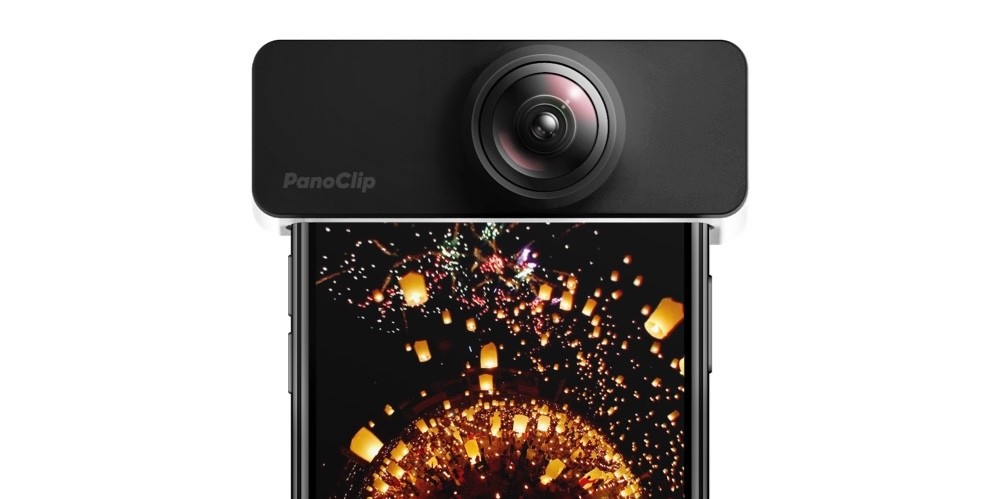 PanoClip Turns Any iPhone Into A 360 Camera For $50 | PanoClip