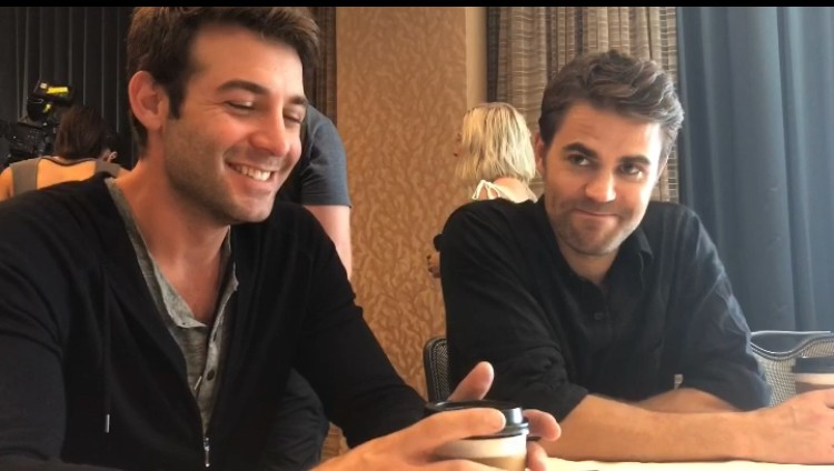 SDCC Paul Wesley and James Wolk Tells Us About 'Tell Me A Story' | SDCC Paul Wesley and James Wolk 'Tell Me A Story'