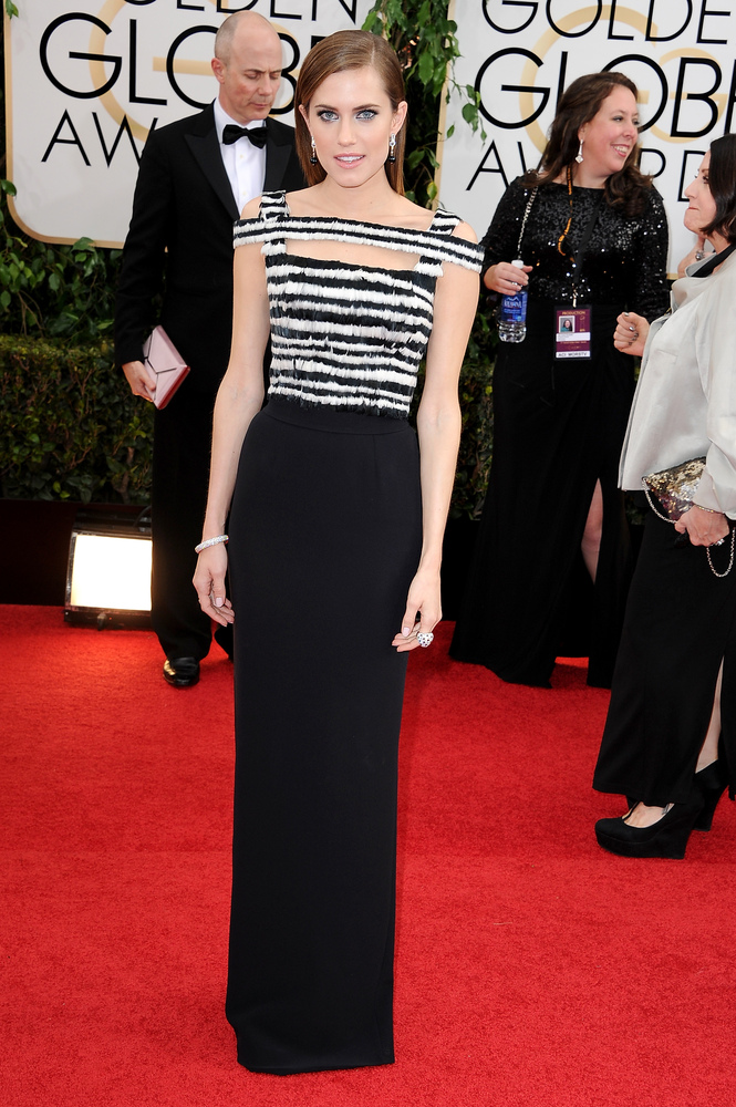 Allison Williams, Alexander McQueen