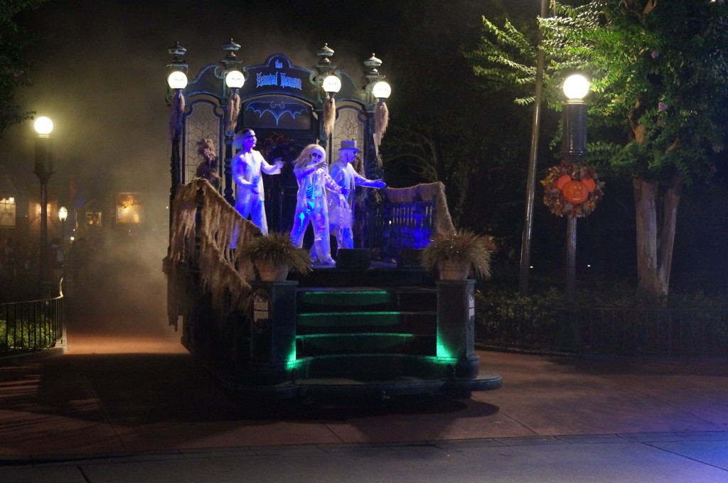Hitchhiking Ghosts during Boo To You Parade