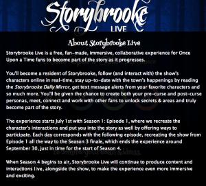 Courtesy of storybrookelive.com