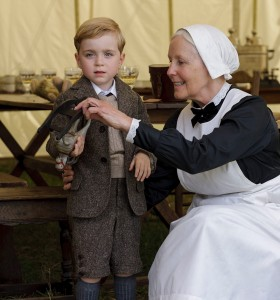 Downton Abbey young George