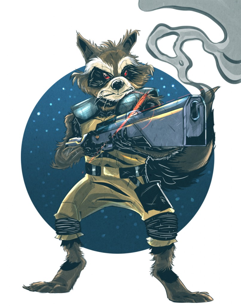 guardians_of_the_galaxy___rocket_raccoon_by_geogant-